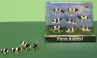8 Zwartebonte koeien  1:87