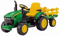 John Deere Ground Force 12V tractor (3-8 jaar, max 40 kg)  > 3 jaar / ans