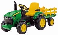 John Deere Ground Force 12V tractor (3-8 jaar, max 40 kg)