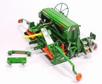 Amazone AD3000 Super - Rotorkopeg met Zaaimachine  1:32