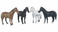 1 Bruder Paard (Zwart, wit en/of bruin)  1:16