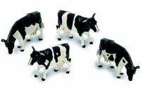 Britains - 4 Vaches (Noire/Blanc)  1:32