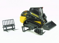Mini Rups Lader - New Holland C238 met accessoires  1:32