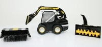 Mini Lader - New Holland L220 met accessoires  1:32