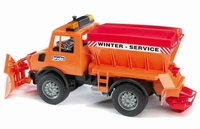 Unimog - Service Hivernal Avec Chasse-Neige  1:16