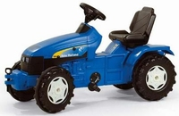 Rolly Toys - New Holland TD5050 - Tracteur de pieds  ca 104 - 134 cm