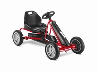 Puky Go-cart/Skelter F20 L - Rood - Gelagerde fluisterwielen  ca. 95 - 135 cm