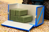 Britains - Transportbox with 5 haybales  1:32