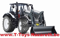 Wiking - Valtra T174 + Chargeur - Blanc  1:32