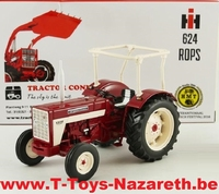 Replicagri 2016 - International IH McCormick 624 - 2WD -ROPS  1:32