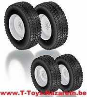 Wiking 2016 - Accessoires - Winter tyres for Valtra T4 serie  1:32