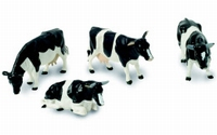 Britains - 3 cows and a bull  1:32