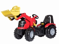 Rolly-Toys - X-Trac Premium Traptractor + Voorlader - 4-10 j  ca 110 - 140 cm