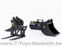 Eurosteel excavator attachment set with S6/S60 connector