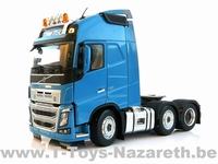 MarGe Models 2018 - Volvo FH16 750 - 3 Axle Lorry - Blue  1 32