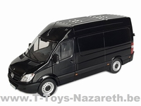 MarGe Models 2019 - Mercedes Benz Sprinter - Black  1 32