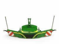 UH 2019 - Tractor bumper Safetyweight - John Deere Vert  1 32
