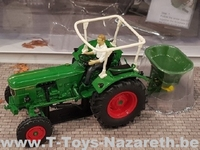 Universal Hobbies 2019 - Set Deutz D 60 05 + Amazone ZA  1 32
