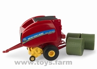 ERTL 2019 - New Holland Roll-Belt 560 - Rund Ballenpresse  1 32