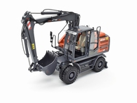 AT-2019 - Atlas 160W wheeled Excavator with Mitas dual tires  1 32