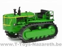 Schuco 9076 - Deutz 60PS - Tractor on Tracks -  Résin  1 32