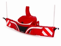UH6250 - Tractor bumper Safetyweight - Massey Ferguson red  1 32