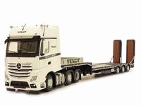 MB Actros Gigaspace 6x2 + Nooteboom - Edition Limitee Fendt  1 32