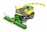 ROS - Krone BiG-X 1180 on Tracks + X-Collect 900-3 + EF300S