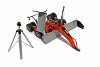 Montefiori ROMA 700 Leveling blade with laser and stand