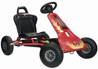 Air Racer AR2 Go-cart - Red/Rood - met Soundbox Geluidsstuur  ca 110 - 150 cm