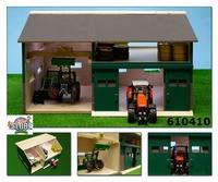 Atelier avec hangar pour les Tracteurs  1:32