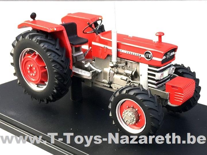 Artisanaal - Massey Ferguson 178 - 4WD - Rode velgen