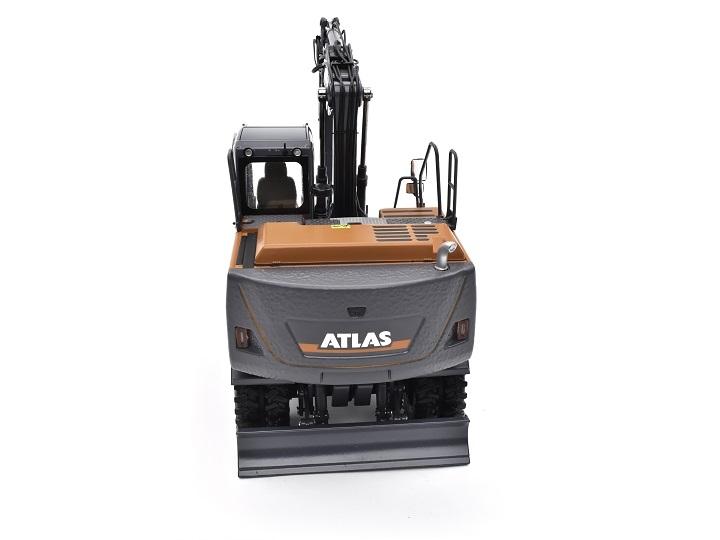 AT-2020 - Atlas 160W wheeled Excavator with Mitas dual tires