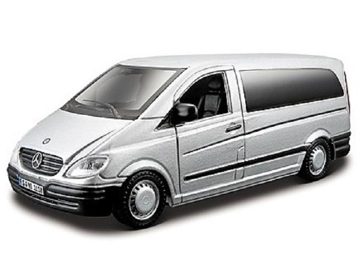 Bburago - Mercedes-Benz Vito - Silber
