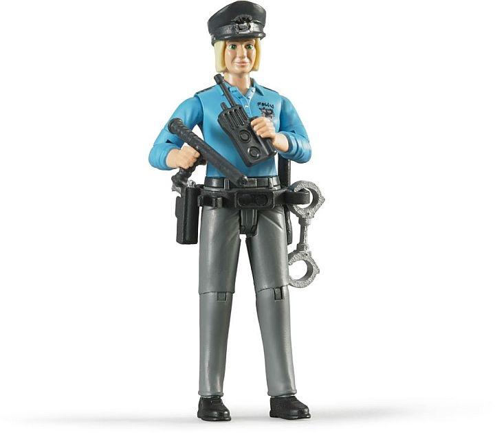 Bruder 2015 - POLICE series - Femme Policier avec accessoire
