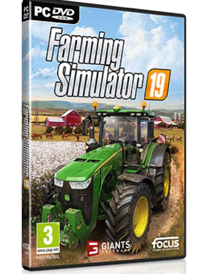 DVD Farming Simulator 2019 - fur PC