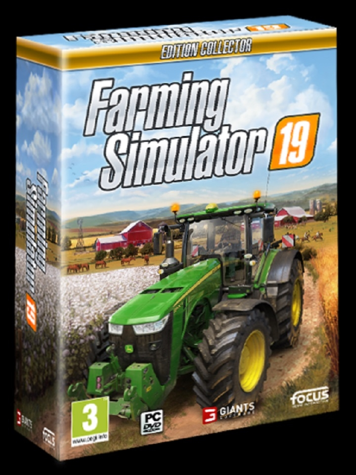 DVD Farming Simulator 2019 - for PC - Collectors Edition