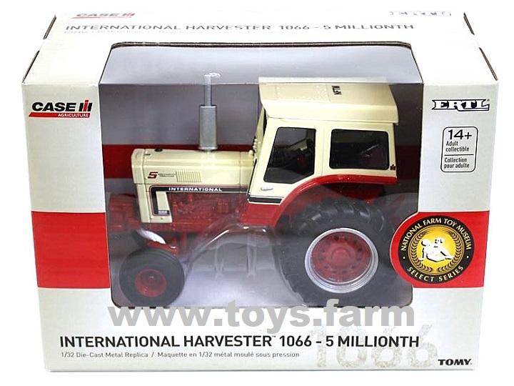 "ERTL 2019 - IHC International Farmall 1066 ""5-Millionth"""