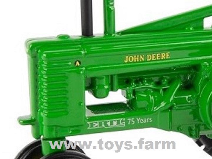 ERTL 75th Anniversary - John Deere A with Farmer Man