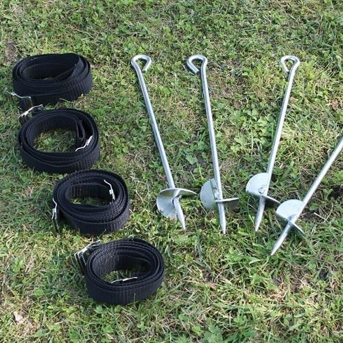 EXIT Ankerset voor EXIT JumpArenA en Oval Trampoline