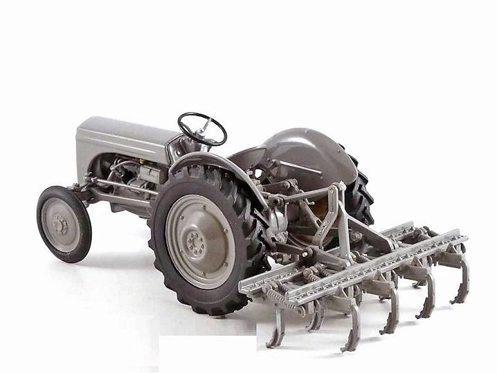 Ferguson TEA20 + Plough + Harrow - 80 years Ferguson system