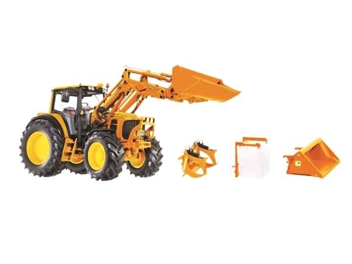 Wiking  John Deere7430 Communal avec Chargeur et accessoires