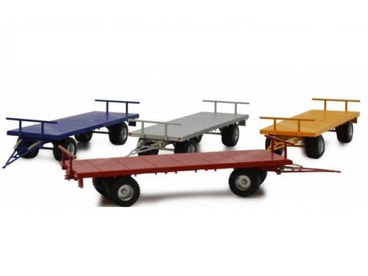 Legend Farmmodels - 4 wiellige landbouwwagen - Grijs
