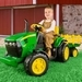 John Deere Ground Force - 12 V (3-8 ans, max 40 kg)  > 3 jaar / ans
