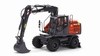 AT-2019 - Atlas 160W wheeled Excavator with Nokian tires  1 32