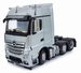 MarGe Models - Mercedes-Benz Actros Bigspace 6x2 - Silber  1 32