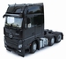 MarGe Models - Mercedes-Benz Actros Gigaspace 6x2 - Black  1 32