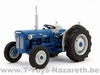 Legend Farmmodels - Fordson Super Dexta - Blauw-Wit (1963)  1 32