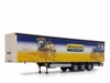 MarGe Models - New Holland Agriculture - Curtensidertrailer  1 32