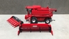 Case-IH Axial Flow 2188 + 6 row corn picker and grain header  1 32